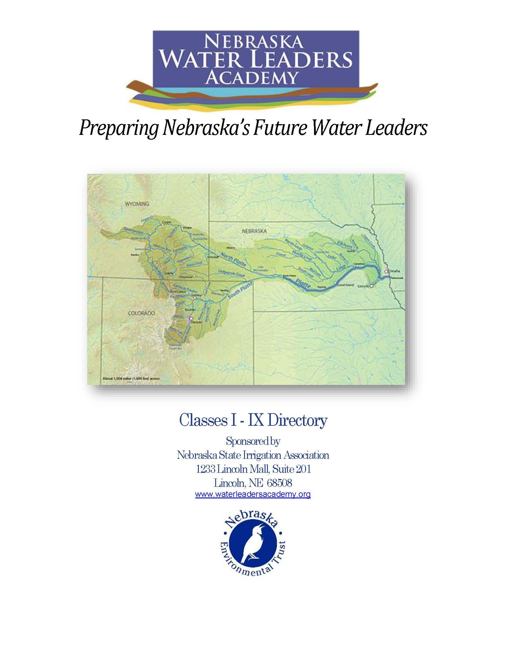 WLA Graduates - Nebraska Water Leaders Academy